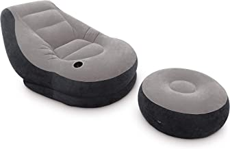 Intex Ultra Lounge Inflatable Chair With Footrest (68564)