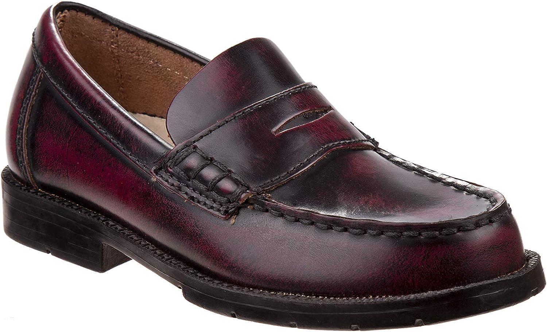 Academie Gear Men Shoes Oxford Josh (Light Burgundy)