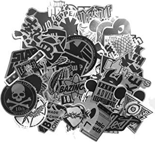 DreamerGO Cool Graffiti Stickers 55 Pieces Various Car Motorcycle Bicycle Skateboard Laptop Luggage Vinyl Sticker Graffiti Laptop Luggage Decals Bumper Stickers (55 Pieces)