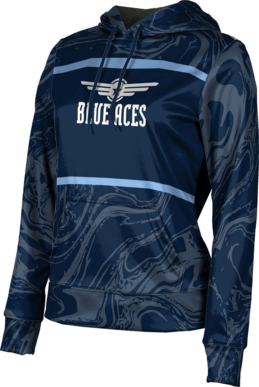 ProSphere Wichita East High School Girls' Pullover Hoodie, School Spirit Sweatshirt (Ripple)