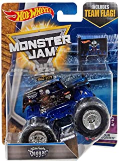 Hot Wheels Monster Jam 2017 Tour Favorites Son-Uva Digger 1:64 Scale