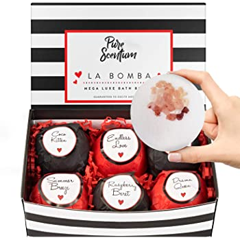 Bath Bombs for Women - Luxury Organic Bath Bombs for Girls and Women - Vegan Natural Gift Sets – US Made - La Bomba Set
