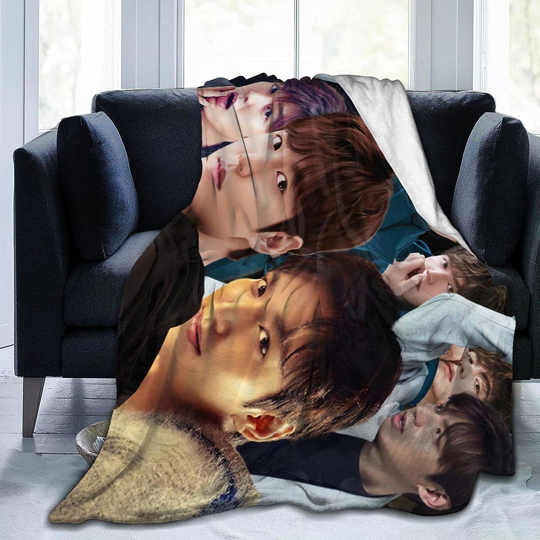 Lee Min-Ho Soft Max 79% OFF Throw Blanket Great interest Decorative Fashion Bedspre Popular