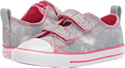 separation shoes 132e6 34c4c Converse Kids. New. Wolf Grey Strawberry Jam White