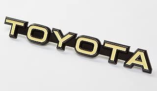 Best custom car emblems toyota Reviews
