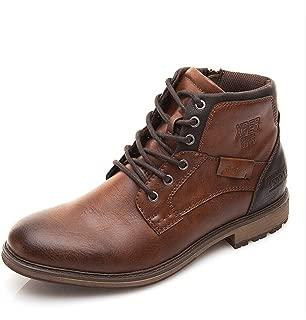 Meetloveyou Autumn Winter Men Boots Big Size 40-48 Vintage Style Men Shoes Casual Fashion High-Cut Lace-up Warm Hombre #XHY12504BR