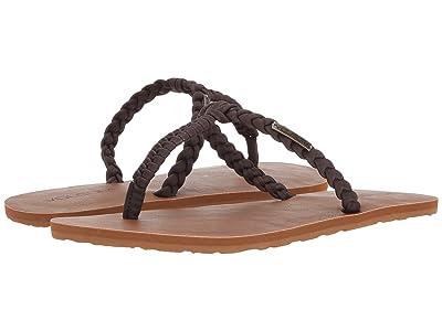 Volcom Fishtail Sandals (Brown) Women