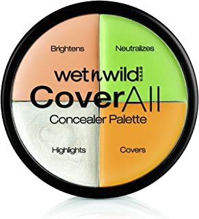 Wet n Wild - CoverAll Concealer Palette - Paleta de Correctores Perfecta para Ocultar Imperfecciones - Countoring Maquill...