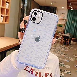 SUBESKING iPhone Xs Max Case Cute,Crystal Clear Soft TPU 3D Diamond Pattern Design Fashion Cool Luxury Slim Fit Hybrid Sho...