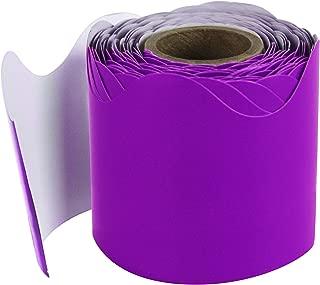 Carson Dellosa Purple Scalloped Borders (108276)