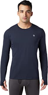 Ghee Long-Sleeve Crew Men's Lightweight Performance Shirt for Running, Cycling, and Everyday Use