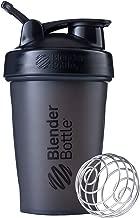 BlenderBottle Classic Loop Top Shaker Bottle, 20-Ounce, Full Color Black