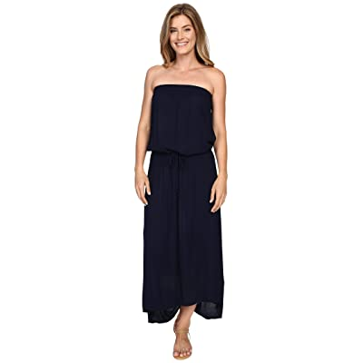 Allen Allen High-Low Tube Dress (Lapis) Women