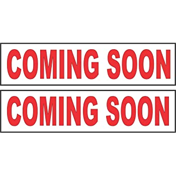 4 Coming Soon and Sold Visibility Signage Experts Real Estate Sign Rider Magnets 6x18 2 Pairs of The Most Common Sign Riders