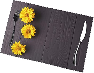 Amazon Com Planet Ethnic Asian Elephant Designer Polypropylene Place Mats Tablemats Set 6 Placemats 15 75 X 11 4 Inches Each Home Kitchen