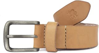 Cintura in cuoio uomo artigianale Titos personalizzabile gratis