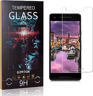 GIMTON Verre Trempé pour Google Pixel 2, 3D Touch Ultra Résistant Protection en Verre Trempé Écran pour Google Pixel 2, sa...