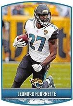 2018 Panini NFL Stickers Collection #154 Leonard Fournette Jacksonville Jaguars Official Football Sticker