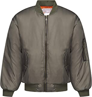 tunni Classic MA1 Flight Bomber Airforce Biker Security Men's Jacket Made in England
