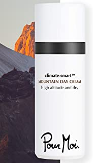Pour Moi Mountain Day Cream : Anti-Aging Skincare | Face & Neck Moisturizer for All Skin Types feat. Red Snow Algae, Hyaluronic Acid & Vitamins A, E, C for High Altitudes