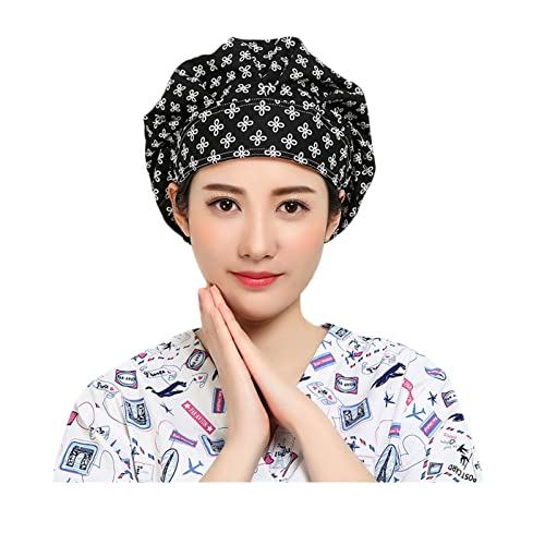 Nothar Women s and Men s Scrub Hat Bouffant Scrub Cap One Size Multi Color 19d861afb387