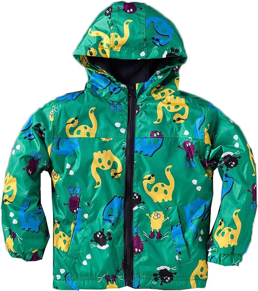 AmyStylish Little Girls Kids Waterproof Outdoor Hoodied Coat Jacket Raincoat/Pants