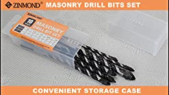 Alpen 11701100100 Tungsten Carbide Masonry Drill BitsLong Life 11 0mm