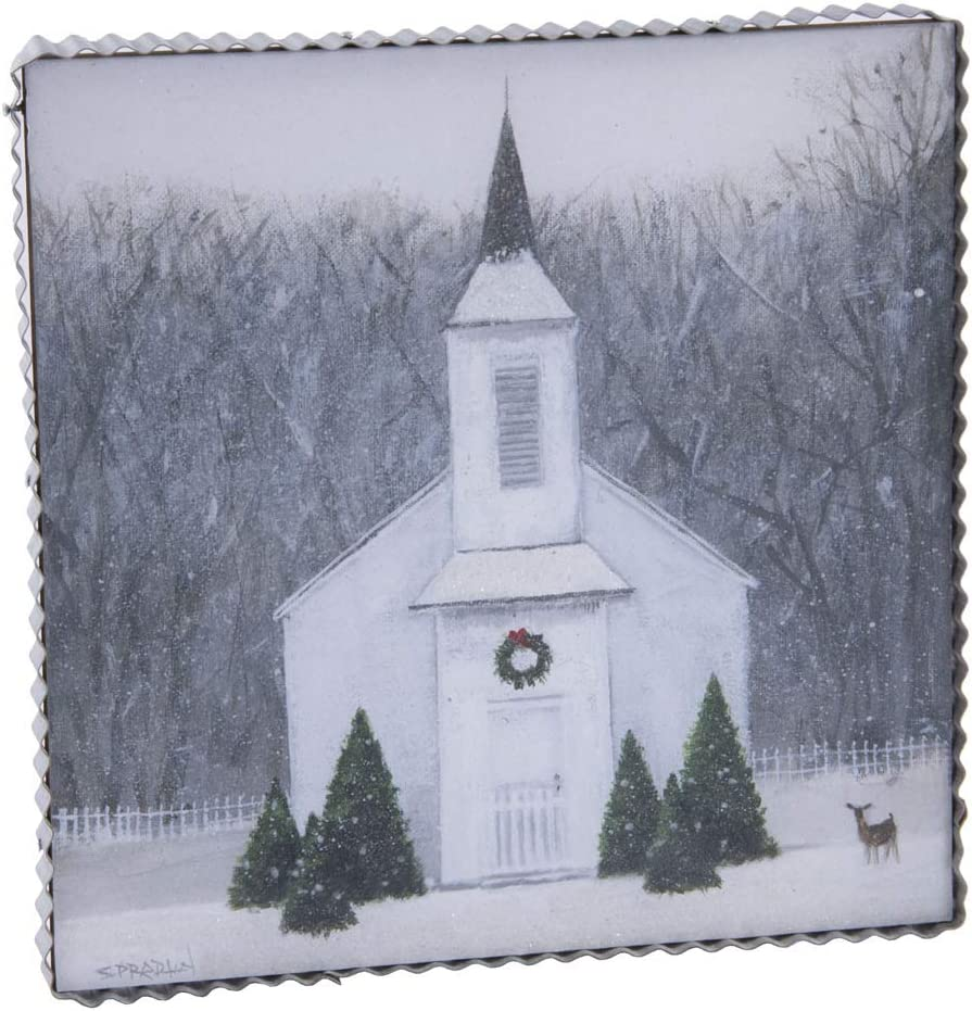 The Round Top Collection 再再販 -Gallery Winter 即納 Wood Metal Church - and