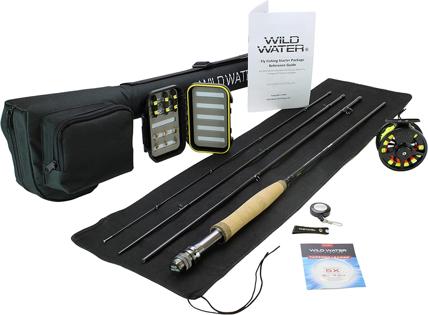 Wild Water Compact Fly Fishing Rod and Reel