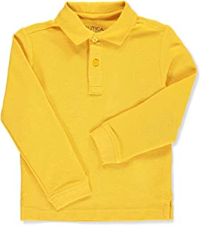 Boys' School Uniform L/S Pique Polo