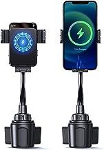 پایه شارژر بی سیم اتومبیل 15 وات ، پایه نگهدارنده تلفن فنجان هوشمند ، شارژ سریع اتوماتیک بستن اتوماتیک تهویه هوا برای نصب تلفن همراه مناسب برای iPhone 12 Pro Max / 12 Mini / 12 Pro / 12/11 Pro / XS / 8 ، Samsung S10 / S9 و غیره