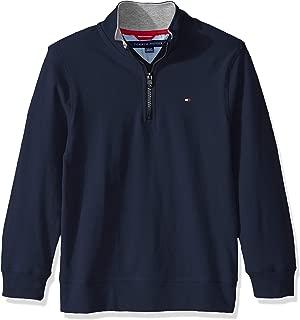 Boys' Quarter Zip Sweater