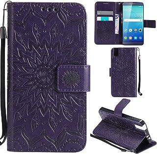 ab36591d963 Ooboom® Huawei ShotX Funda Flip Cover Wallet Case Carcasa Cubierta Piel PU  Billetera Soporte Plegable