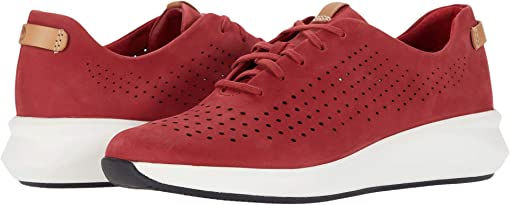 Red Nubuck