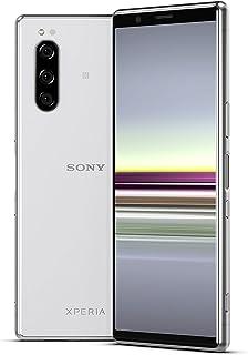 Sony Xperia 5 Bundle, 6,1 tum FHD+ HDR OLED 21:9 display, 6 GB RAM, 128 GB minne, grå