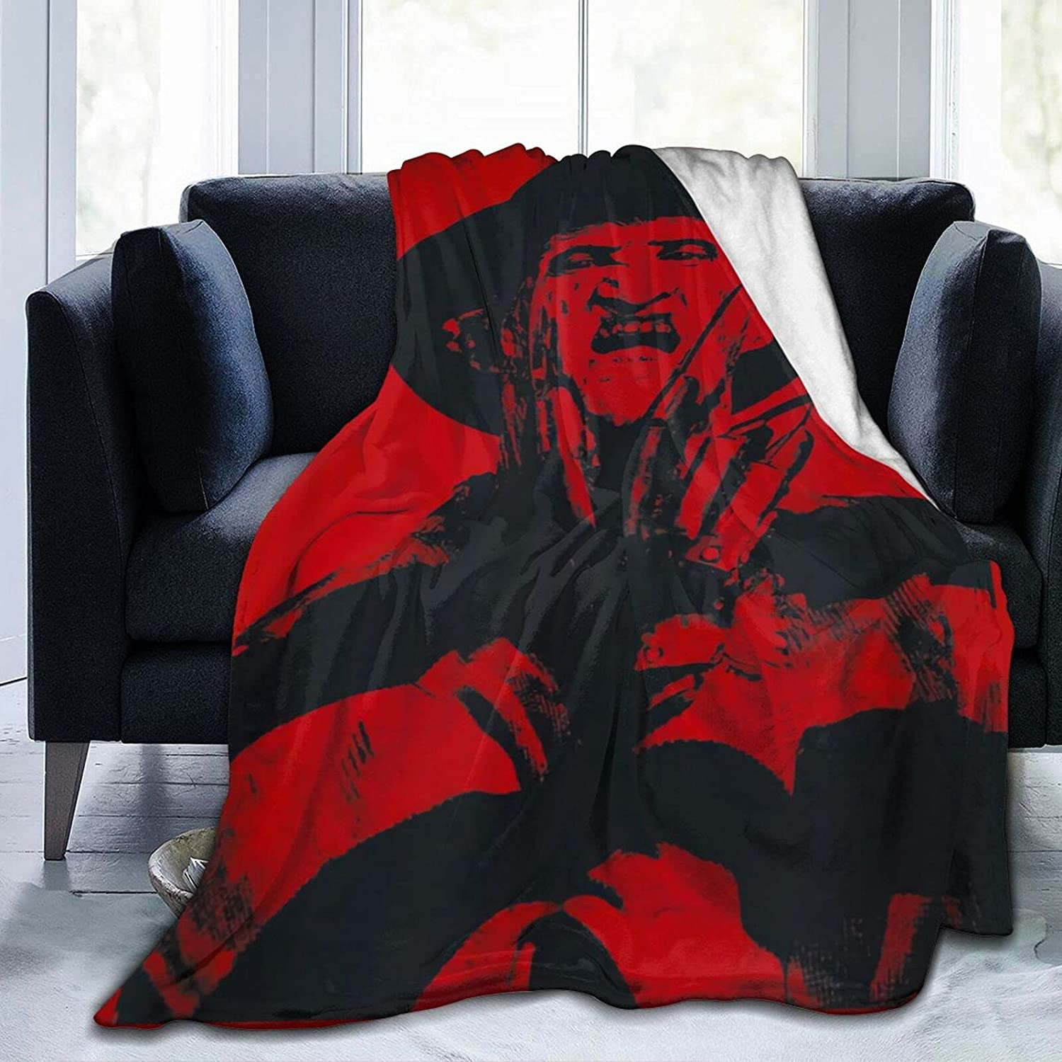 A Nightmare On Opening large release sale Elm Street Soft overseas Blanket Warm and Full Throw Size