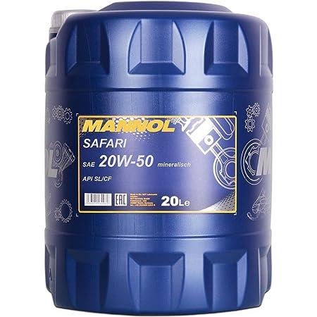Mannol 20w 50 Safari 20 Liter 20w50 Motoröl 20w 50 Auto