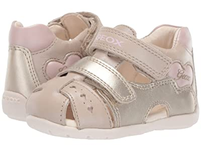 Geox Kids Kaytan Girl 52 (Infant/Toddler) (Beige/Pink) Girl