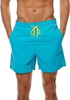c9c6193857 Cindeyar Men's Swimming Shorts Leisure Short Swimming Trunks Quick Drying Beach  Shorts Summer Swimming Shorts Bermuda