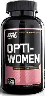 Optimum Nutrition 120 Opti-Women Women's Female Multivitamin Optiwomen Capsules