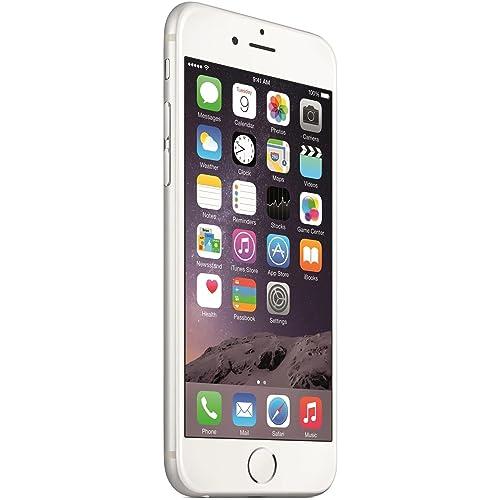 "Apple iPhone 6 - Smartphone libre de 4.7"" (Dual-Core a 1.4 GHz, 1 GB de RAM, 64 GB de memoria interna, cámara de 8 MP, iOS) color plateado"