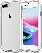 JETech Case Compatible with iPhone 8 Plus and iPhone 7 Plus, 5.5-Inch, Shockproof Bumper Cover, Anti-Scratch Clear Back, Ultra HD
