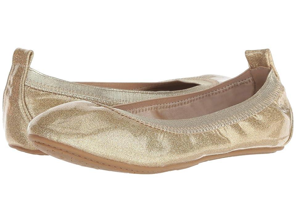 Yosi Samra Kids Limited Edition Miss Samara (Toddler/Little Kid/Big Kid) (Champagen Patent Glitter) Girls Shoes