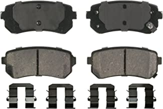 Wagner QuickStop ZD1398 Ceramic Disc Pad Set, Rear
