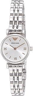 ساعة كاجوال من الستانلس ستيل بعرض انالوج للنساء من امبوريو ارماني - AR1935