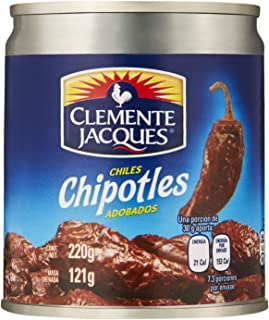 MexGrocer Clemente Jacques Chipotle Peppers in Adobo Sauce
