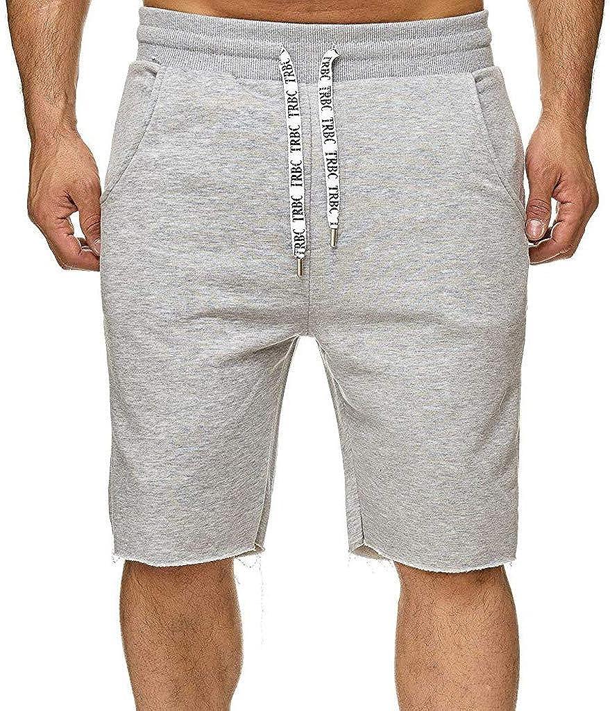 MODOQO Cargo Shorts for Men-Summer New Solid Color Slimd Fit Multi-Pocket Overalls Shorts