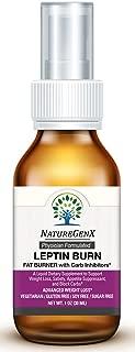 NatureGenX - Leptin Burn Liquid - A Dietary Supplement Weight Management and Satiety - Doctor Formulated - Leptin Supplements - Non-GMO, Vegan - 1oz