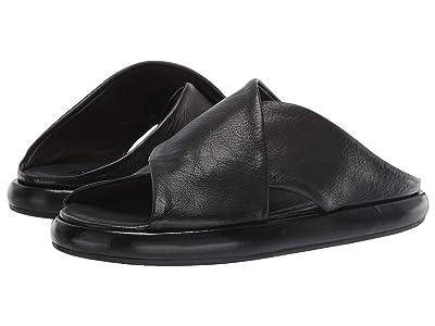 Marsell Cross Wrap Sandal (Black) Men