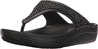 crocs Sloane Embellished Women Flip in Black